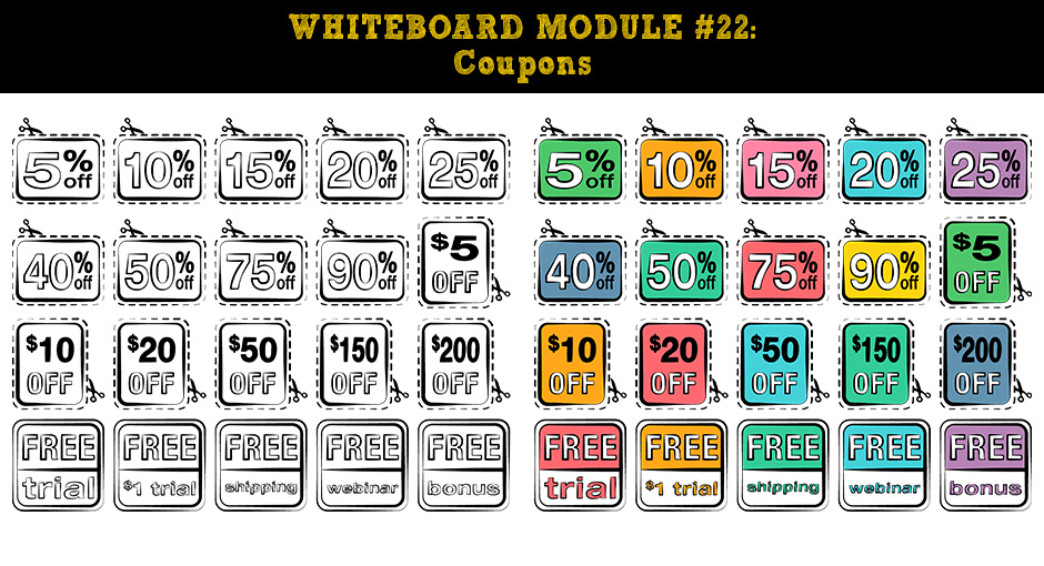 Whiteboard Video Packs Deluxe  Download